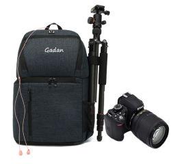 대형 카메라 백팩, 사진작가용 방수 카메라 백팩 드론 백, 캐논 니콘용 DSLR 카메라 가방 2개(15.6인치 노트북 수납칸)