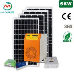 Buen precio 5kw fuera de la red completa de 10kw de energía solar Energía Solar Panel Inicio