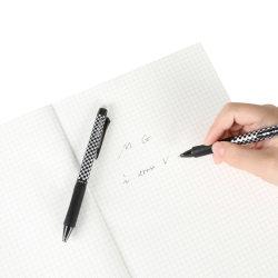 Preço barato escrita extremamente suave 0,7 mm Medium Point Classical Retrátil Esferográfica de gel apagável para utilização no escritório
