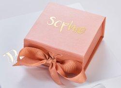 컬러풀한 맞춤형 인쇄 고급 접이식 종이 선물 상자