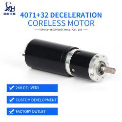 Engranaje sin núcleo/reducción/desaceleración Motor electrónico DC Mini con cepillado para equipos médicos, silla de ruedas automática, máquina de embolsado, equipo mecánico