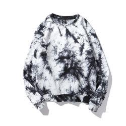 2021 de algodón de alta calidad de verano Nuevo estilo Hiphop Street Style TIE DYE Jersey Oversize personalizada Personalized Elasttane TIE DYE Sweater