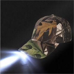 El logo impreso personalizado Hat Hat LED iluminado de luz LED Gorra de béisbol