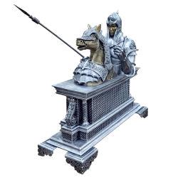 KOCEL Escultura em bronze personalizados decoração Casa e Escritório Dragão oriental de recreio com impressora 3D