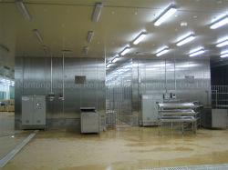 Замороженные продукты промышленного оборудования/Blast туннеля быстрого замораживания машины для морепродуктов