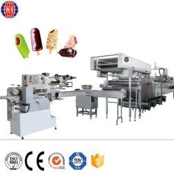 Suave completamente automático de la Copa duro Palo cono de helado que hace la máquina de folletos para la venta