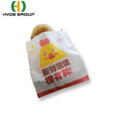 حقيبة خبز محمصة شفافة طلاء النافذة ورق كرافت خبز محمص كعكة تحميص حقيبة التعبئة الخاصة بالوجبات الخفيفة ذات العزل الذاتي