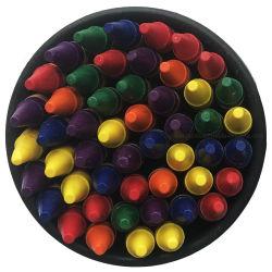 독성이 없는 컬러풀한 도색 다양한 색상 왁스 크레용 버킷 크레용