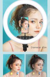 Het multifunctionele het Uitzenden van de Afstandsbediening Levende Licht van de Make-up met de Steun van de Driepoot