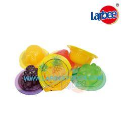 Gli alimenti di Larbee Assorted la gelatina di frutta dalla fabbrica della caramella della gelatina