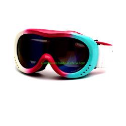 K0050 Winter Sports Safety Eye met dubbele lens van hoge kwaliteit Bescherming Kinderbril comfortabele zachte spons/schuim Skibril voor jongens Meisjes