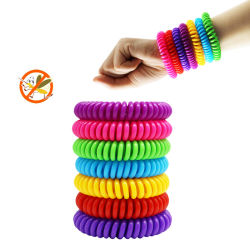 Taille réglable EVA jetables de DEET libre de l'insectifuge bracelet