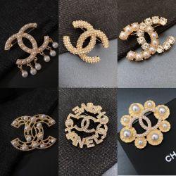 أزياء Bling Rhinestone نسخة LV DD الزفاف Cameo زينة فاخرة مصمم العلامة التجارية الشهيرة عقد الأرانج بروشز نسخة مجوهرات بالجملة من أجل السيدات