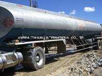 3 мосты масло топливный бак грузового прицепа контейнер для жидкости основную часть судов распределения дорожного движения прицепа трактора для тяжелого режима работы утилиты барабана Полуприцепе танкер