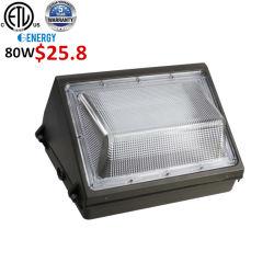 Het Winkelen maken-in-China IP65 LEIDENE maken de Van uitstekende kwaliteit van het Aluminium SMD Lichten het Licht van het Industriële 80W LEIDENE Pak van de Muur waterdicht