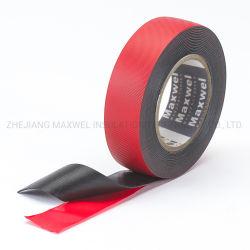 Alta tensión de cinta aislante Autoamalgante con camisa roja