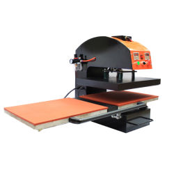 Pneumatische doppelte Positions-heiße Aushaumaschine-Wärmeübertragung-Drucken-Maschine