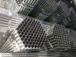 ماسورة فولاذية من الصلب الأسود ماسورة لحام الأنابيب وغيرها مواد البناء المعدنية