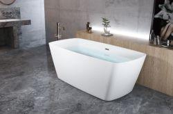 2020 Novo Cupc superfície sólida de banho spa Acrylic Seamless Sanitária Autoportante Banheira