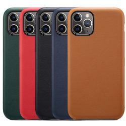 حقائب الحماية من الجراب الرسمية الأصلية من جلد البولي يورثان Apple iPhone 12 Mini 11 PRO XS XR X كحد أقصى 8 7 6 6 6 s Plus Se 5 5 5 s