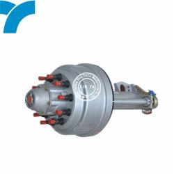 트레일러 적용 트레일러 부품 고사용 Fuwa 13톤 액슬 압력 트랙터 세미 트레일러 액슬