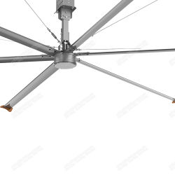 20FT Motor de c.c. sem escovas grandes industriais ventiladores de teto