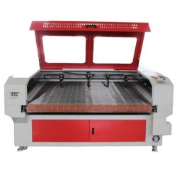 MC 1610 4 Heads Fabric / Clapths / Toys / تغذية نسيج سيّارات ليزر يقطع ماكينة سعر