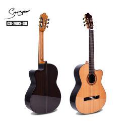 卸し売り楽器経済的な斜めに裁ったボディクロム固体標準的なギター