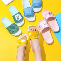 Os homens ajustável Sandals couro macio de Verão único EVA Senhoras Sport chinelos confortáveis