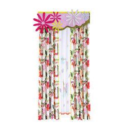 Ployester mecanismos Jacquard Black out capota em tecido de qualidade de venda Pink Cortinas blackout Design de cortina para sala de estar quarto