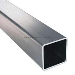 Warmgetaucht galvanisiert Hohlprofil Stahl quadratisches Rohr 80X80X2,5mm Rechteckige Edelstahlschläuche