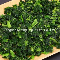 Nuovo prodotto congelato IQF Spinach tritato 10x10mm
