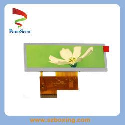 Бар 3.8inch ЖК-дисплей / Letterbox экран с разрешением 480x100, для car audio / Стиральные машины