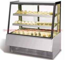 Supermarché gâteau de l'équipement de réfrigération commerciale