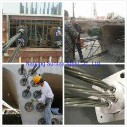 ASTM A416 PC Strand Buildings PC fil d'acier avec 1860 Limite de traction MPa