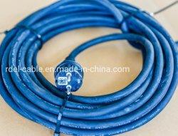 16A VDE IP44 Velas de pré-norma europeia Schuko cabos de borracha