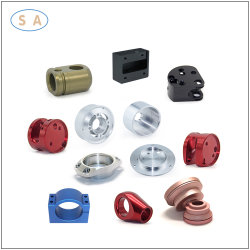 Alliage d'aluminium usiné avec précision personnalisé machines partie d'usinage CNC