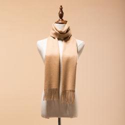 Stevige Kameel 100% van Luxuty van de Kameel van de Kleur Geweven Duidelijke Mongolië de Sjaal van het Kasjmier