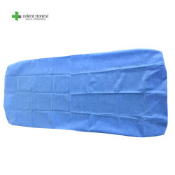 SMS, pp, lenzuolo monouso non tessuto di PP+PE, tela di base a gettare per medico, ospedale, STAZIONE TERMALE, centro di cura