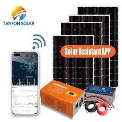 3Квт Солнечная панель установки 3 КВА СОЛНЕЧНАЯ ПАНЕЛЬ комплекты цены с батарей резервного копирования