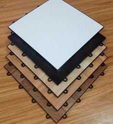 Doe-het-zelf installatie Interlock PVC Vinyl Houten draagbare dansvloer