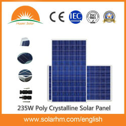 (HM-235P-60) 235W полимерные кристаллические солнечная панель для электростанции для домашней системы