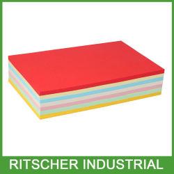 Klebriger Anmerkungs-Protokoll-Auflage-ungeheftet-Einfüllstutzen-Papierbriefpapier