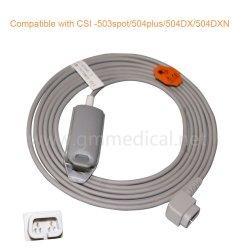 De compatibele CSI Volwassen sensor van de vingerklem SpO2, dB9 Mannetje, L=3M, gebruik met CSI 503Spot/504plus/504dx/504DXN