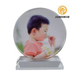 Longwin는 유리제 액자 - 유리제 아름다운 탁상 패 결정 심상에 사진을 인쇄하는 주문을 받아서 만들어진 색깔을 개인화했다