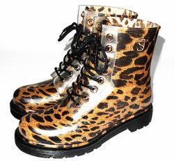 La mode des chaussures de pluie Étanche Dames