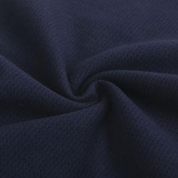 カジュアルウェアおよびTシャツのための30%C 70%Pの反Pilling柔らかい網の編むファブリック