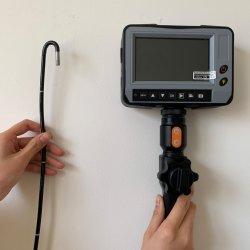 L'inspection industrielle d'endoscope à 2 voies de la caméra d'articulation, 2.0m Câble d'essai, 5,5mm Monitoe Tailles