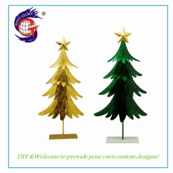 Het in het groot Huis van de Kerstboom siert OEM het Metaal van de Fabriek voor de Decoratie van de Tuin
