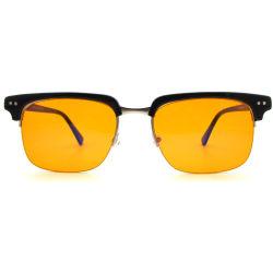 La meilleure qualité d'acétate élégant armatures métalliques Cr39 haut de l'objectif de vente de lunettes d'ordinateur Frames